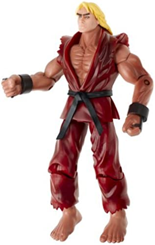 Street Fighter Figure - Ken 6 by Jazwares