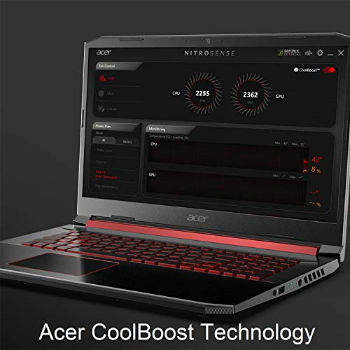 Acer Nitro 5 Gaming Laptop, 9th Gen Intel Core i7-9750H, NVIDIA GeForce RTX 2060, 15.6