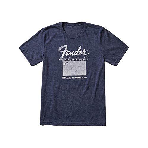 Fender® Deluxe Reverb Camiseta Azul Talla L