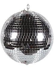 HQ Power VDL30MB2 300mm Espejo esfera giratorio discoteca - Accesorio de discoteca (Espejo, Espejo, 30 cm, 1,35 kg)