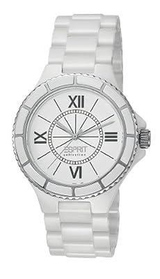 Esprit EL101322F01 - Reloj analógico de cuarzo para mujer con correa de cerámica