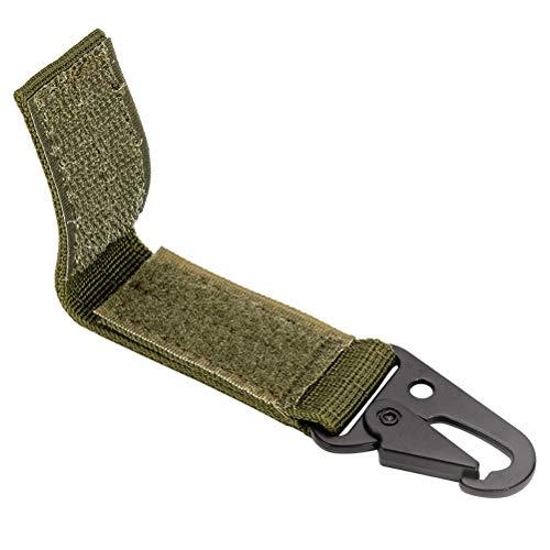 KENANLAN - 1 mosquetón pequeño de Nailon para Colgar Cinturones con Ganchos, Llavero, Army Green (Verde) - SO0121400_AGN-708-1110210491