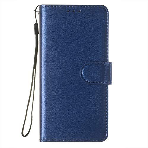 Tosim Xiaomi [Redmi Note 5 Pro] Hülle Leder, Klapphülle mit Kartenfach Brieftasche Lederhülle Stossfest Handyhülle Klappbar Case für Xiaomi Redmi Note 5Pro - TOYHU250717 T2