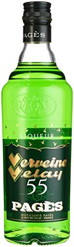 Distillerie Pagès Verveine du Velay Verte 55 Kräuter (1 x 0.7 l)