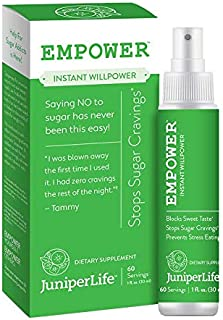 Empower - Instant Willpower™ Stop Sugar Cravings for Weight Loss | Gymnema Sylvestre Carb Blocker to Lose Weight