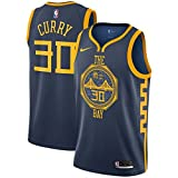 Lalagofe Stephen Curry, Golden State Warriors, 30 Basket Jersey Maglia Canotta, Nero City Edition,...
