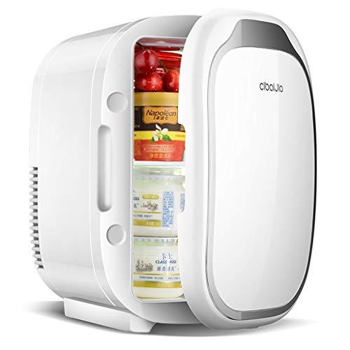 HSJ WYQ- Mini refrigerador. Refrigerador pequeño de 6L for Uso doméstico. Refrigerador portátil de Doble Uso. Uso de refrigerador pequeño, 28 * 24 * 18 cm. refrigeración