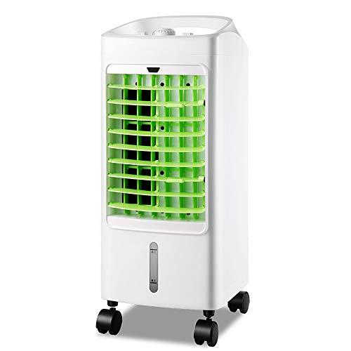 Airco ventilator Draagbaar Watergekoeld, Air Cooler, Luchtbevochtiger, 3 Wind Snelheid, Gezonde Bevochtiging