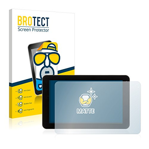 BROTECT 2X Entspiegelungs-Schutzfolie kompatibel mit Xoro TelePAD 9A1 Pro Bildschirmschutz-Folie Matt, Anti-Reflex, Anti-Fingerprint