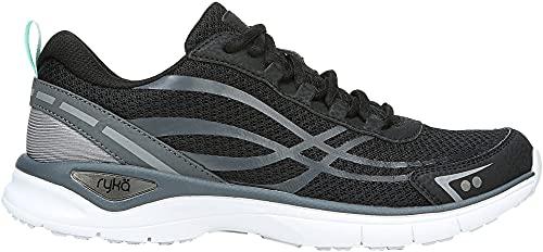 Ryka Womens Rio Walking Shoes 7 Black