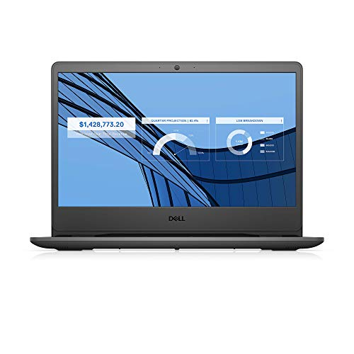 Dell Vostro 3401 14 inch (35.56 cms) FHD Anti Glare 2 Side Narrow Border Display Laptop (10th gen i3-1005G1 / 4GB / 1TB / Integrated Graphics/ Win 10 + MSO/ Black) D552124WIN9BE