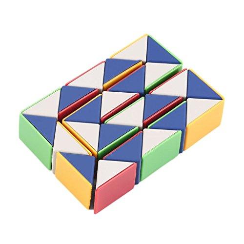 KinshopS Snake Magic 3D Cube Gioco Puzzle Twist Toy Party Viaggio Famiglia Regalo del Bambino