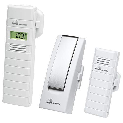 ELV Mobile Alerts IP-Wettersensoren Starter-Set (Gateway, Temperatursensor, Thermo-/Hygrosensor)