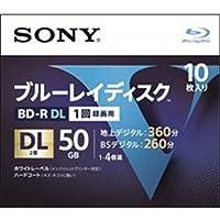 SONY ソニー BD-R 50GB 2層 10枚パック