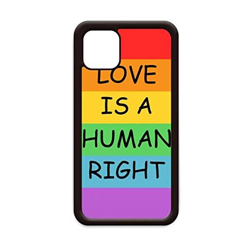 Homo lesbische regenboog vlag LGBT voor Apple iPhone 11 Pro Max Cover Apple mobiele telefoonhoesje Shell, for iPhone11 Pro Max