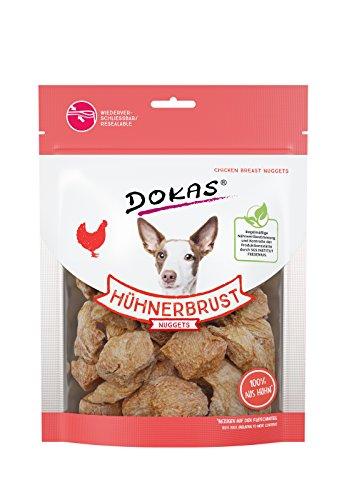 DOKAS Gefriergetrocknete Premium Nuggets für Hunde – Idealer Snack für zwischendurch