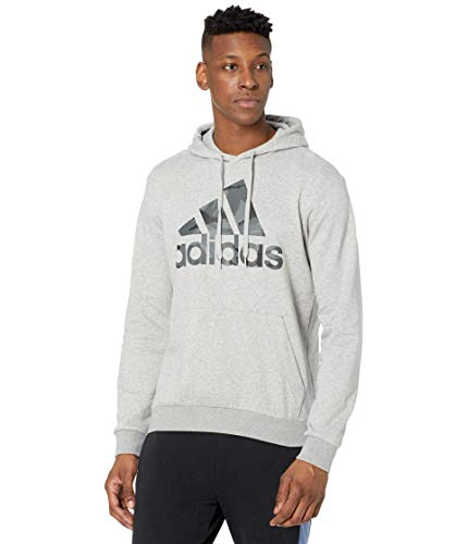 adidas,Mens,Camo Hoodie,Medium Grey Heather,Small