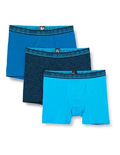 Schiesser Jungen Multipack 3PACK Shorts Unterwäsche, Sortiert 1, 164 (3er Pack)