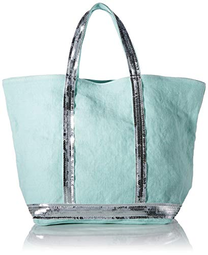 Vanessa Bruno 0PVE31-V40413, Borsa a mano donna Medium, Verde (laguna), Medium