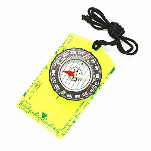WINSTON-UK Grüner Acryl-Kompass,...
