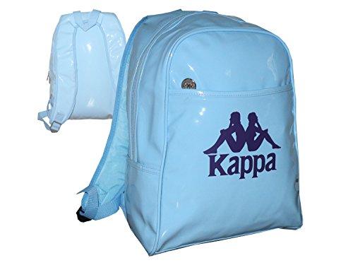 Kappa Rucksack Damen Kinder Berrin Backpack Hellblau Sport Freizeit Tasche 35x30x15 cm