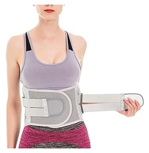 XFYJR Postura Lumbar Postura Corrector Amplio Cinturón De La Barra para Los Hombres Ortopedic Cintura De La Cintura Trasera Atrás Cinturón De Soporte Lumbar Facilidad Dolores Hombres Mujeres Sport