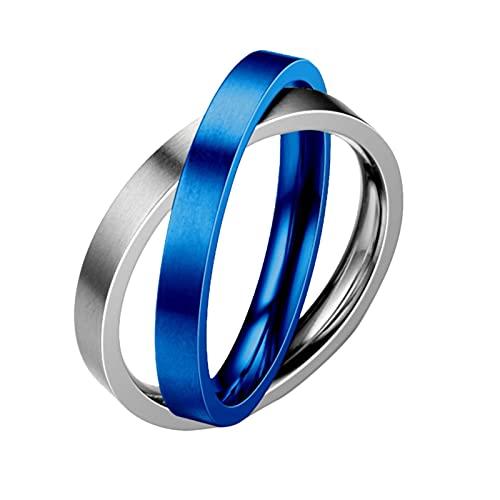 Anillos de boda Señor de los anillos anillos de plata para mujeres Anillo único sin comprimir Eterno Anillo de compromiso Decoración para hombres y mujeres Anillo simple y generoso Cruz, 12, Aleación,