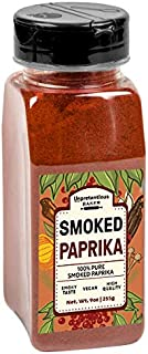 Smoked Paprika, 9 oz. by Unpretentious Baker, A Flavorful Ground Spice Made from Dried Red Chili Peppers Wood Smoked for a Strong & Smoked Flavor, Convenient Shaker Bottle