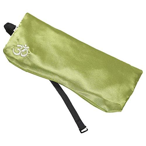 Arbougstg Silk Yoga Augenkissen Schlafen & Spa Augen Entspannung Bezug mit Cassia und Lavendelsamen, Aromatherapie Augenkissen für Schlaf, Müdigkeit Linderung