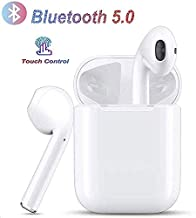 Bluetooth Headphones,Bluetooth 5.0 Wireless Earbuds,3D Stereo 24H Playtime Wireless Sports Headset,IPX5 Waterproof, Pop-ups Auto Pairing for Apple Airpods Android/iPhone Samsung