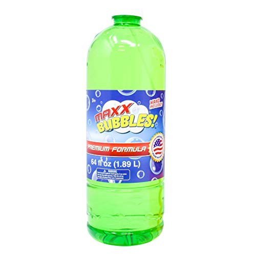 Sunny Days Entertainment Bubble Solution Refill 64oz - Made in USA Bubbles  ...