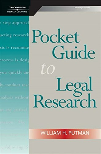 Image OfPocket Guide To Legal Research, Spiral Bound Version