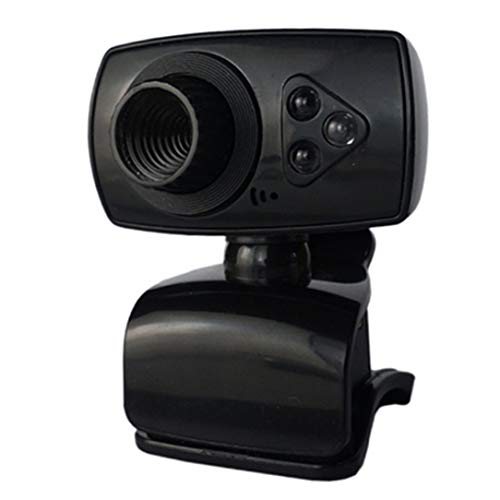 gfjfghfjfh Telecamere notturne Webcam Telecamere USB Videoregistrazione Videocamera Web Portable Drive-Free Webcams per PC
