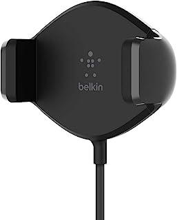 Belkin F7U053btBLK Belkin Wireless Charging Vent Mount 10W – Wireless Car Charger, Black