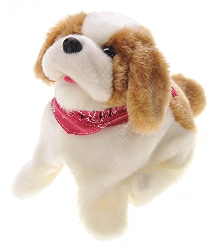 PowerTRC Cute Somersault Little Puppy | Barks, Sits, Walk, and Flips | Pet Toy Dog