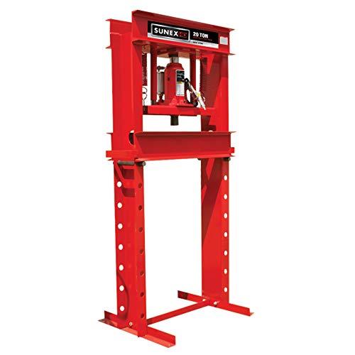 Sunex 5720 Fully-Welded Manual/Hydraulic 20 Ton Shop Press