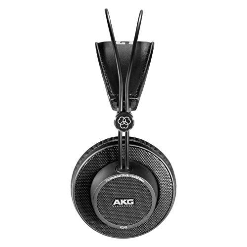 AKG K245 Over Ear Open Back Lightweight Folding Studio Headphones