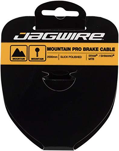 Jagwire - Cable de Freno VTT-Pro pulished INOX-1,5 x 2000 mm -SRAM/Shimano...