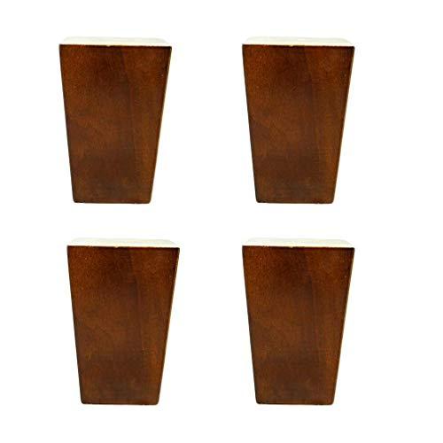 Patas muebles madera modernos Brown Piernas