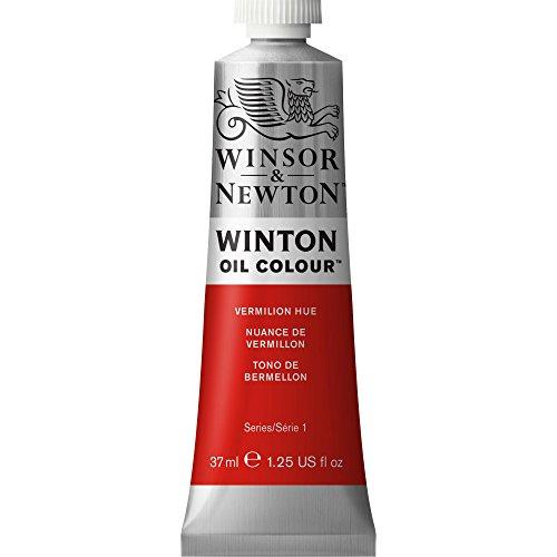 Winsor & Newton Winton Oil Color Paint, 37-ml Tube, Vermilion Hue