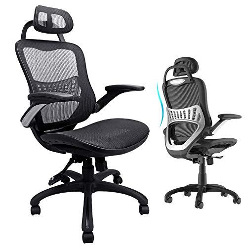Komene Ergonomic Office Chair High Back Mesh Desk ...