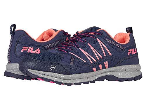 Fila Evergrand TR Trail Running Zapatillas para mujer, (Fila Navy/Rosa Glo/Flor del Desierto), 43 EU