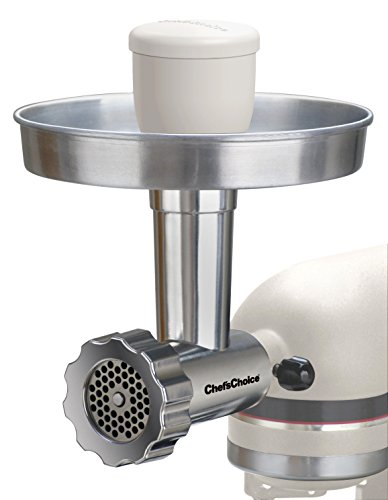 Chef'sChoice 7950000 Premium Stainless Steel Food Grinder, Silver, 3 piece set