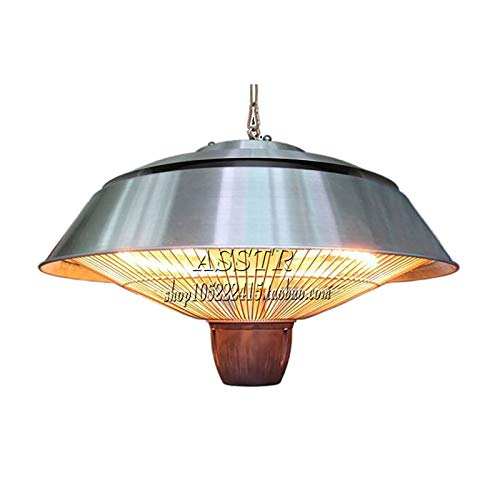 Al Aire Libre Eléctrico Calentador Terraza,Colgando Lámpara De Calor Calefactor Bajo Consumo,600w 900w 1500w Infrarrojo Estufa De...