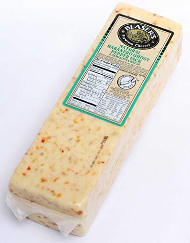 Blaser's Habanero Ghost Pepper Monterey Jack Cheese Loaf, 5 pound — 2 per case