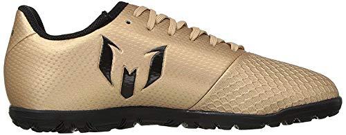 adidas Niños Messi 16.3 Turf Unisex Zapatos, verde (Verde/Negro/Corgrn), 18 EU