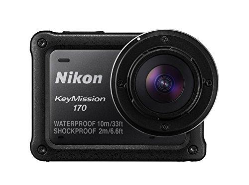 Nikon防水アクションカメラKeyMission170BKブラック