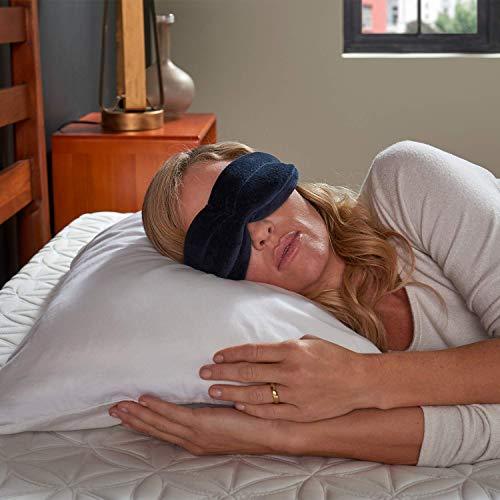 Tempur-Pedic Sleep Mask, One Size, Navy