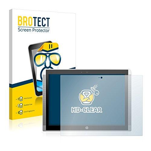 BROTECT Schutzfolie kompatibel mit HP Pavilion x2 12 (2 Stück) klare Bildschirmschutz-Folie