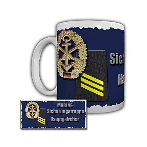 Tasse Marine Sicherungstruppe Hauptgefreiter Minenjagdboot Bundeswehr #29323
